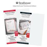 Strathmore Inkjet And Laser Transluscent Vellum
