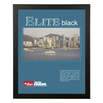 "Instaframe 11x17"" Black Decorative Elite Wood Frame Box of 6"
