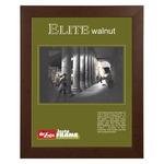 "Instaframe 8.5x11"" Walnut Decorative Elite Wood Frame Box of 6"