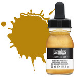 Liquitex Professional Acrylic Ink 30 ml Bottle - Iridescent Bright Gold