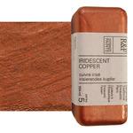 R&F Encaustic Handmade Paint 104 ml Block - Iridescent Copper