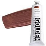 GOLDEN Heavy Body Acrylic 5 oz Tube - Iridescent Copper