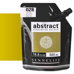 Sennelier Abstract Acrylic Iridescent Gold 500ml