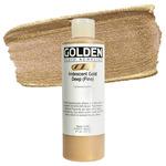 GOLDEN Fluid Acrylics Iridescent Gold Deep (Fine) 8 oz