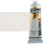 Matisse Structure Acrylic Colors Iridescent White 75 ml