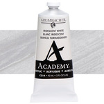 Grumbacher Academy Acrylic 90 ml Tube - Iridescent White