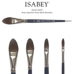 Isabey Series 6235 Squirrel Oval Wash