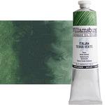 Williamsburg Handmade Safflower Oil Color 150ml Tube - Italian Terra Verte
