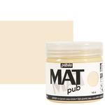Pebeo Acrylic Mat Pub 140ml - Ivory