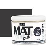 Pebeo Acrylic Mat Pub 500ml - Ivory Black