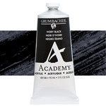 Grumbacher Academy Acrylic 90 ml Tube - Ivory Black