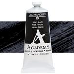 Grumbacher Academy Acrylics Ivory Black 90 ml
