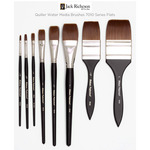 Richesons Quiller Water Media Brushes 7010 Series Flats