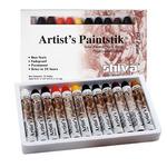 Shiva Artist's Paintstiks Set of 12 Large Professional Colors
