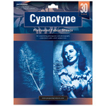 Jacquard Cyanotype Sun Printing Fabric 8.5x11IN Sheets 30 Pack