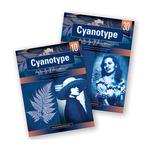 Jacquard Cyanotype Sun Printing Fabric 8.5x11IN Sheets 30 Pack