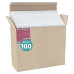 Jerry's Pro Foam Board Box of 100 20x30 (3/16 In Thick) White