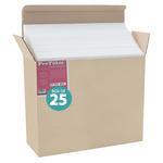 Jerry's Pro Foam Board Box of 25 24x36 (3/16 In Thick) White