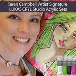 Karen Campbell Signature LUKAS Cryl Studio Acrylic Sets