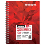 Koh-I-Noor 114lb Color Pencil Pad 7x10in-30 Sheet Spiral In/Out