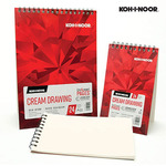 Koh-I-Noor Cream & Black Drawing Dual Wire Bound Pads