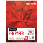 Koh-I-Noor 80lb Pen Paper Ink Block Panel Pad 9x12in-60 Sheet