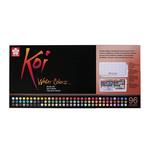 Koi Watercolor Half-Pan Studio Sketch Box w/ Waterbrush Set of 96