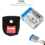 KUM Masterpiece 2 Hole Pencil Sharpener & Pouch