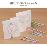Kuretake Zig Clean Color Real Brush Marker Sets