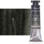 Sennelier l'Aquarelle Artists Watercolor 21ml Tube - Lamp Black