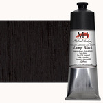 Michael Harding Handmade Artists Oil Color 225ml - Lamp Black