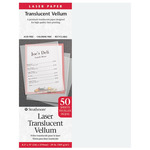 """Strathmore Laser Transluscent Vellum - 50 Pack 8.5x11"""""""