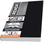 """Crescent Rendr No Show Thru Lay Flat Sketchbook 3.5x5.5"""" (48 sheets)"""