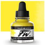 Daler-Rowney F.W. Acrylic Ink 1oz - Lemon Yellow