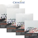 Crescent Lettering Art Boards