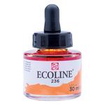 Ecoline Liquid Watercolor 30ml Pipette Jar Light Orange