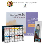 Introduction to Turner Watercolors with the Frugal Crafter Lindsay Weirich