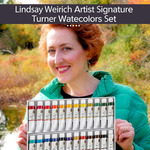 Lindsay Weirich Signature Turner Watercolor Sets