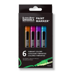 Liquitex Paint Marker Fine Set of 6 Vibrant Colors