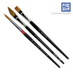 Loew Cornell La Corneille Golden Taklon Brushes