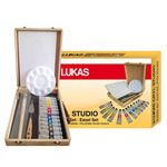 LUKAS Cryl Studio Wood Easel Box Set of 12