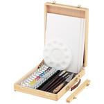 LUKAS Cryl Studio Wood Easel Box Set of 12