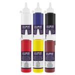 LUKAS Studio Linol Ink 250ml 5 Color Set + White