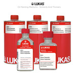 LUKAS Oil Painting Mediums - Solvents and Thinners