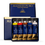 Maimeri Puro Oil Color Set Of 5, 15ml tubes