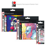 Marabu Graphix Permanent Marker Sets
