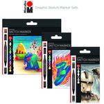 Marabu Graphix Sketch Marker Sets