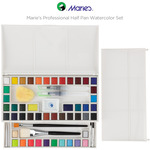 Marie's Professional Half Pan Watercolor Set
