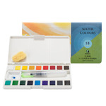 Marie's Sketch and Go 18 Watercolor Half Pan Sets