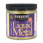 Sargent Art Liquid Acrylic 8 oz Metallic Antique Gold